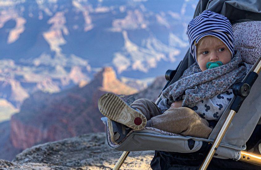 Wielki Kanion Kolorado z dzieckiem?